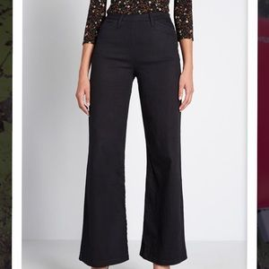 Modcloth Wide Leg Trouser
